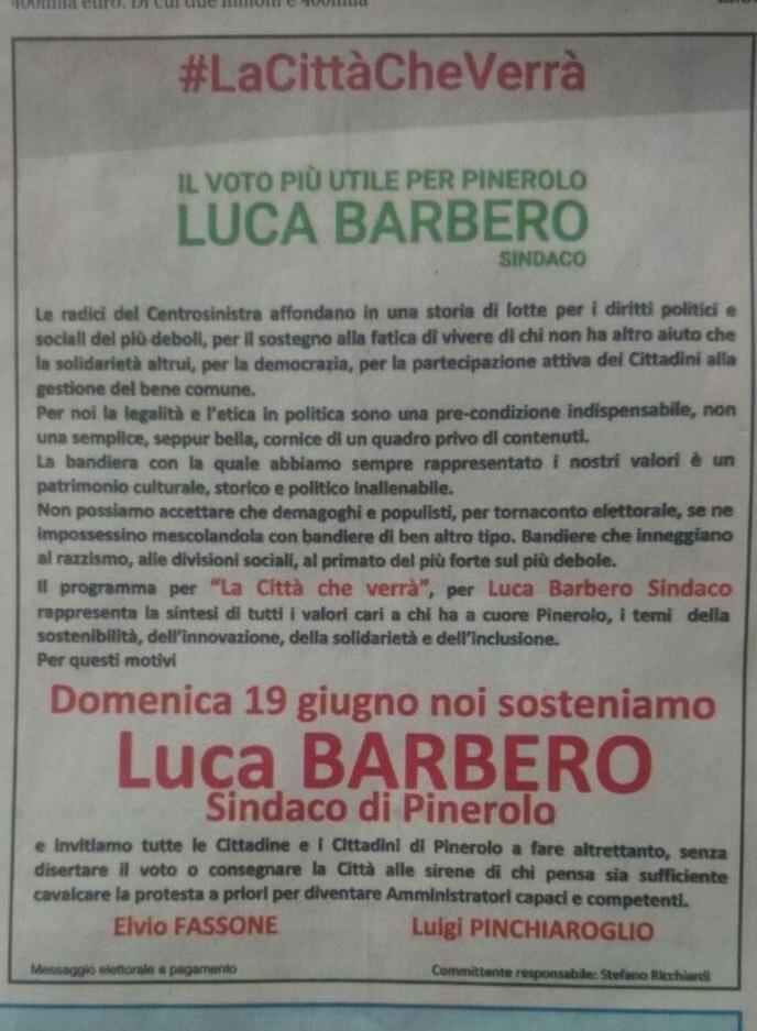 Ballottaggio2016Barbero