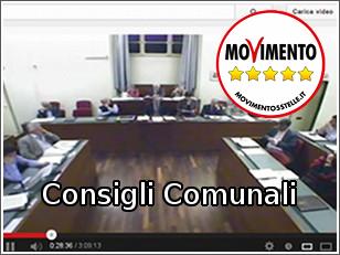 Video dei Consigli Comunali